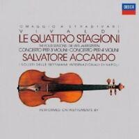 SALVATORE ACCARDO/I SOLISTI DI NAPOLI - VIVALDI-DIE VIER JAHRESZEITEN/+  CD NEW+