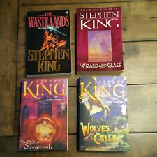 ~1st Ed. 1st Print~  Dark Tower, The Waste Lands, Wizard & Glass, Stephen King