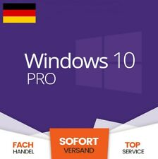 Microsoft Windows 10 Professional Lizenz Key 32 & 64 Bit Win 10 Pro Product Key