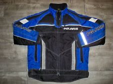 Vintage Polaris Pure Snowmobile Sled Insulated Racing Men's Jacket Coat Medium