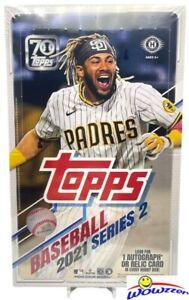 2021 Topps Series 2 Baseball Sealed 12 Box HOBBY CASE-12 AUTO/RELIC+12 SILVER PK