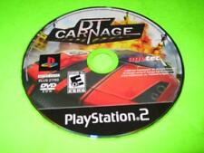DT CARNAGE ~ SONY PLAYSTATION 2 (PS2) GAME