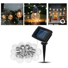 20ft LED solar pineapple lamp string Lights For Backyard Weddings 20bulbs