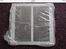 """NEW 650 Series HART & COOLEY 14""""x14"""" RETURN AIR GRILLE WHITE STEEL 043111"""