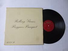 THE ROLLING STONES ~ BEGGARS BANQUET ~ 1968 MONO UK 1ST PRESS ROCK VINYL LP