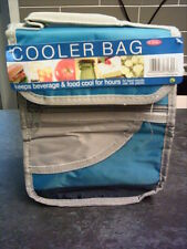 DSL Small Insulated Work Lunch Bag Cool bag Ideal One Person Blue