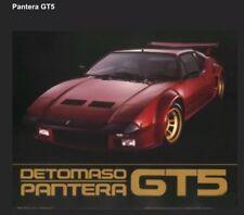 Detomaso Pantera GT5 Out Of Print Car Poster Own It! Stunning! Rare!