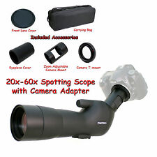 20-60x 60a 2000mm 6000mm Spotting Telescope for Nikon D7100 D5200 Digiscoping