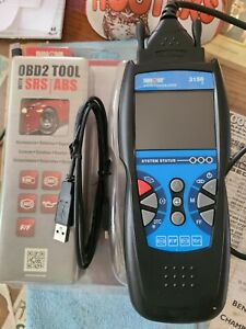 Innova 3150e Code Reader / Scan Tool for OBD2 Vehicle srs air bag abs oil light