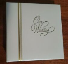 Small Wedding picture album for 4 x 5 pictures - 36 pics