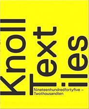 KNOLL TEXTILES 1945-2010 Völker Mid Century Modern & Beyond Textile Design