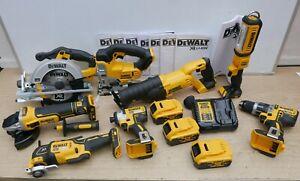 DEWALT XR 18V 8 KIT COMBO DCS391 DCS331 DCS380 DCS355 DCF887 DCG405 3 X 5 AH ETC