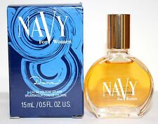 Lot Of 4 Navy By Dana 0.5oz/15ml Edc Splash Mini For Women In Box