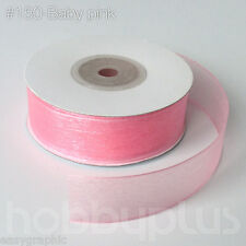 Organza Ribbon 22meter Full Reel 20mm High quality Roll Cake Wrapping 25yards