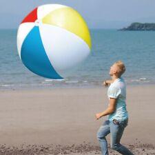 Riesiger aufblasbarer XXL Wasserball 107 cm Strandball Spielball Strand Urlaub
