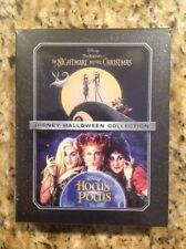 THE NIGHTMARE BEFORE CHRISTMAS & HOCUS POCUS(Blu-ray/DVD/Digital)NEW Authentic