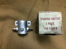 NOS 1955 Thunderbird canister starter relay, 1954 Ford power window safety relay