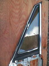 1967-1968 Pontiac Catalina Bonneville left wing vent window and frame* HARDTOP*
