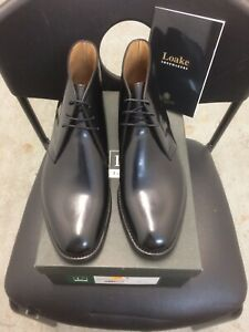 Loake Mens Chukka Ankle Boots 209b Size 8.5