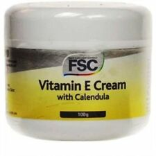 Vitamin E Cream with Calendula 100g x 3 Pots (300g) - FSC