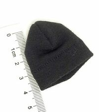 X105-02 1/6 Scale HOT Dragon Skull Guard - Black Wool Beanie Hat TOYS