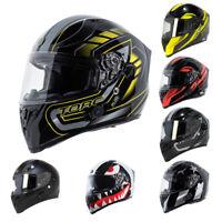 TORC T-15 B Bluetooth Full Face Motorcycle Helmet T15