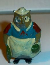 Britains Cococubs Pre-war lead figure of animals this one is Granny Owl