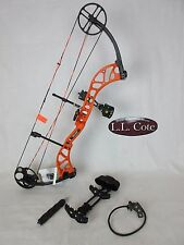 Bear Wild Compound Bow Left Hand 70# Blaze Orange Ready to hunt package