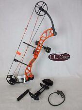 Bear Wild Compound Bow Left Hand 70# Blaze Orange Ready to hunt package