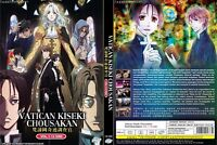 ANIME DVD Vatican Kiseki Chousakan(1-12End)Eng sub&All region + FREE CD