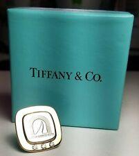 TIFFANY 18K & STERLING SILVER BOSTON HARBOR HOTEL EMPLOYEE AWARD DIAMOND PIN