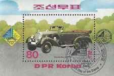 Timbre Voitures Mercedes Corée BF2738 o réf. Stampworld lot 19799