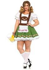 Oktoberfest Costume, German Beer Heidi Dutch Bavarian Gretchen Leg Avenue 3X/4X