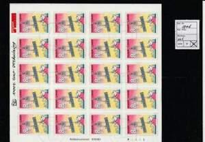 Nederland gestempeld 1997 used sheet V1706 - Verhuiszegels