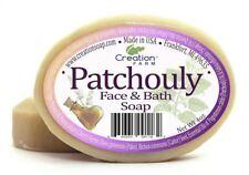Patchouli Face & Bath Pure Botanical Soap 8 oz (Two 4 oz Bar Pack)