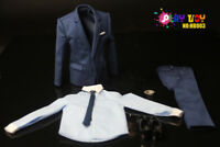 1/6 PLAY TOY HB003 Gentleman Suit Shoes Set Clothes Figure Model Accessory