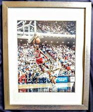 Michael Jordan/Chicago Bulls 8X10 Auto Signed Photo Framed W/COA!🔥GORGEOUS🔥