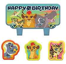 Disney lion Guard Mini Candle Set Birthday Cake Decoration Party Favor Supplies