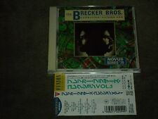 The Brecker Bros. Collection / Volume One Japan CD Terry Bozzio George Duke