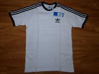 NEU Adidas Originals 3-Stripes Tee Herren T-Shirt Gr S Oberteil Kurzarm Weiß