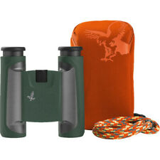 NEW Swarovski CL 10 x 25 Pocket Binoculars Green + Mountain Accessory Pack  (UK)