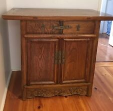 ANTIQUE FURNITURE - KOREAN CHEST 2 DRAWERS 2 DOORS MELB.   SUPER BARGAIN!!!!