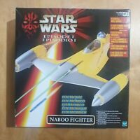 Star Wars: 'Episode I' 1999 Electronic Naboo Fighter - Hasbro NEW unopened