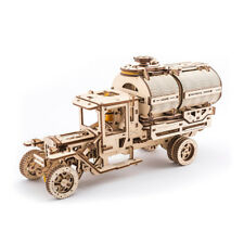 UGears Truck with Tanker mechanical wooden model KIT 3D puzzle