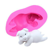 3D Pig Cake Mould Silicone Fondant Cute Soap Molds Chocolate Baking Mold Tools