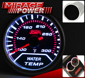Performance Water Temperature Temp Ratio Gauge Meter 100F-300F For Dodge Jeep