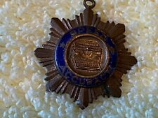 Antique 1922 UTC Underwood Typewriter Speed and Accuracy Pendant Medal