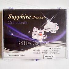 20Pcs dent Monocrystalline Sapphire Ceramic Bracket mini MBT.022