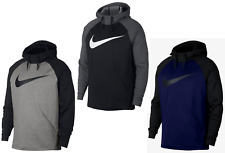 Mens Nike Colorblocked Swoosh THERMA-FIT Pullover Training Hoodie - XXL/XL/L NWT