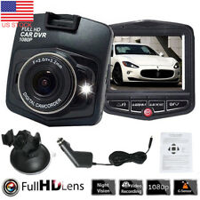 "2.4"" Full HD 1080P Car DVR Camera Video Recorder Dash Cam Night Vision G-sensor"